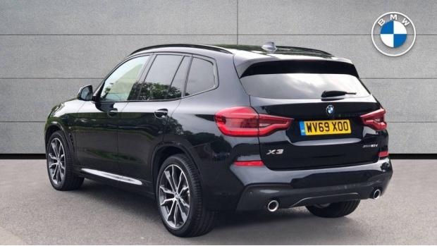 2019 BMW XDrive20d M Sport (Black) - Image: 2