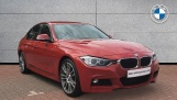 2015 BMW 320d M Sport Saloon (Red) - Image: 1