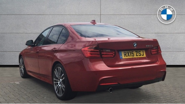 2015 BMW 320d M Sport Saloon (Red) - Image: 2