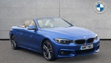 2017 BMW 430i M Sport Convertible (Blue) - Image: 1
