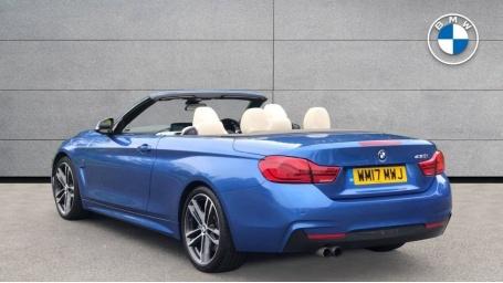 2017 BMW 430i M Sport Convertible (Blue) - Image: 2