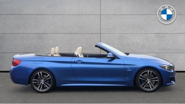 2017 BMW 430i M Sport Convertible (Blue) - Image: 3