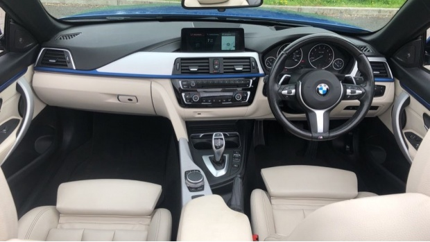 2017 BMW 430i M Sport Convertible (Blue) - Image: 4