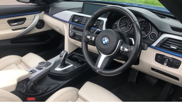 2017 BMW 430i M Sport Convertible (Blue) - Image: 6