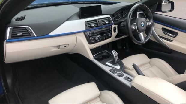 2017 BMW 430i M Sport Convertible (Blue) - Image: 7