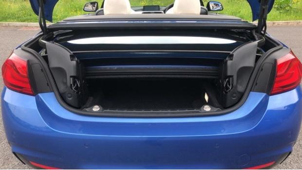 2017 BMW 430i M Sport Convertible (Blue) - Image: 13