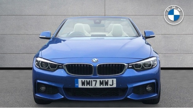 2017 BMW 430i M Sport Convertible (Blue) - Image: 16