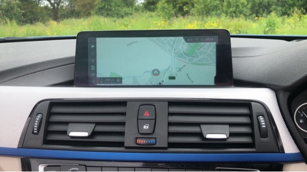 2017 BMW 430i M Sport Convertible (Blue) - Image: 21