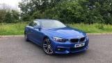 2017 BMW 430i M Sport Convertible (Blue) - Image: 24