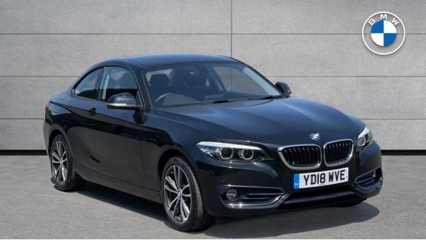 2018 BMW 220i Sport Coupe (Black) - Image: 1