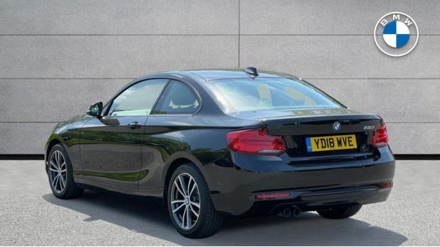 2018 BMW 220i Sport Coupe (Black) - Image: 2