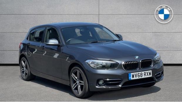 2018 BMW 116d Sport 5-door (Grey) - Image: 1