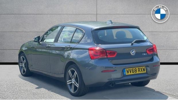 2018 BMW 116d Sport 5-door (Grey) - Image: 2