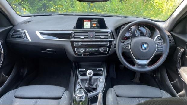 2018 BMW 116d Sport 5-door (Grey) - Image: 4