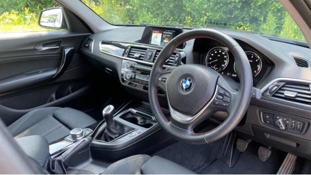 2018 BMW 116d Sport 5-door (Grey) - Image: 6