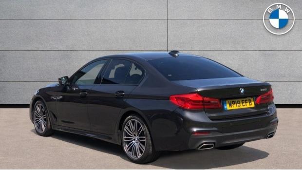 2019 BMW 530i M Sport Saloon (Grey) - Image: 2