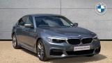 2018 BMW 520d M Sport Saloon (Blue) - Image: 1