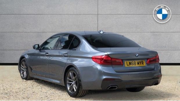 2018 BMW 520d M Sport Saloon (Blue) - Image: 2