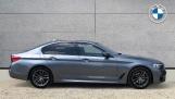 2018 BMW 520d M Sport Saloon (Blue) - Image: 3