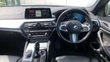 2018 BMW 520d M Sport Saloon (Blue) - Image: 4