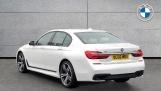 2016 BMW 730d xDrive M Sport Saloon (White) - Image: 2