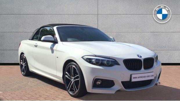 2019 BMW M Sport Convertible (White) - Image: 1
