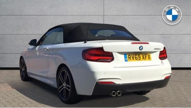 2019 BMW M Sport Convertible (White) - Image: 2
