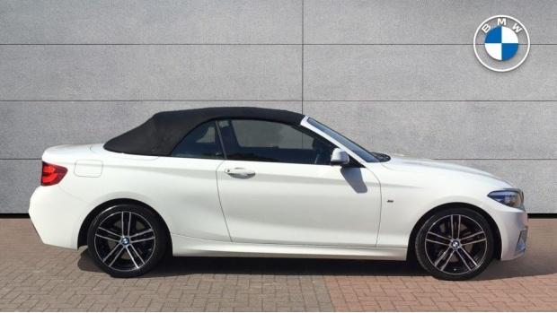2019 BMW M Sport Convertible (White) - Image: 3