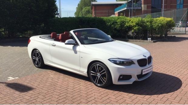 2019 BMW M Sport Convertible (White) - Image: 24