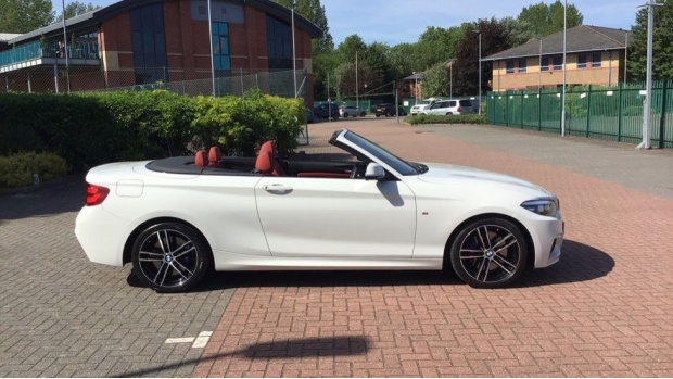 2019 BMW M Sport Convertible (White) - Image: 25