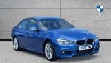 2017 BMW 320d M Sport Saloon (Blue) - Image: 1