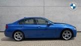 2017 BMW 320d M Sport Saloon (Blue) - Image: 3