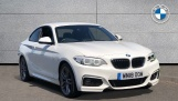 2018 BMW M Sport Coupe (White) - Image: 1