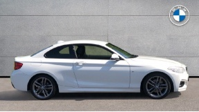 2018 BMW M Sport Coupe (White) - Image: 3