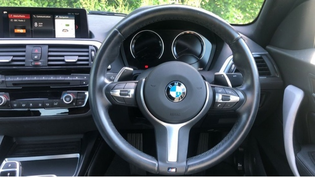 2018 BMW M Sport Coupe (White) - Image: 5