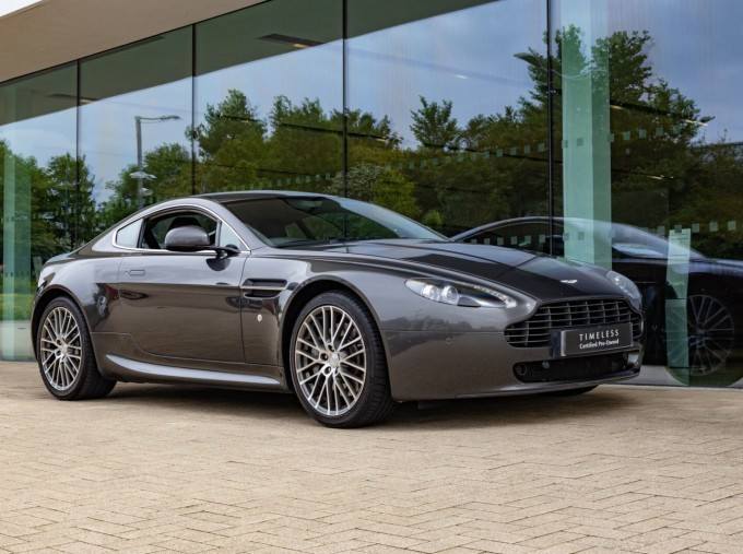 2012 Aston Martin V8 N420 2-door (Silver) - Image: 1