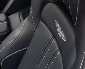 2019 Aston Martin Coupe (White) - Image: 10