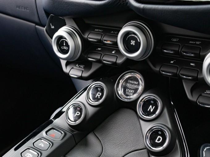2019 Aston Martin Coupe (White) - Image: 12