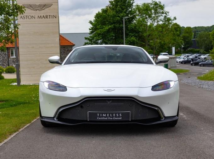 2019 Aston Martin Coupe (White) - Image: 18
