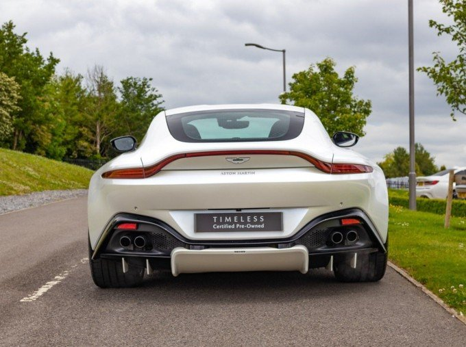 2019 Aston Martin Coupe (White) - Image: 23