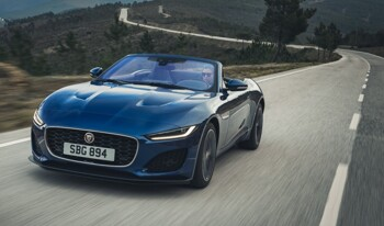 The Jaguar F-Type Convertible