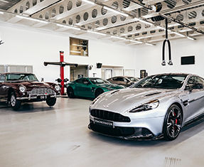 Aston Martin  Bristol servicing Image 1