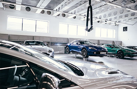 Aston Martin  Bristol servicing Image 2