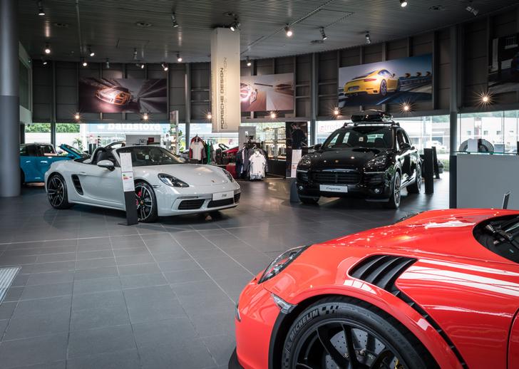 New Porsche Range