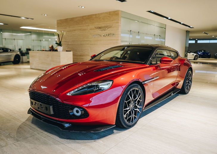 New Aston Martin Cars In Stock