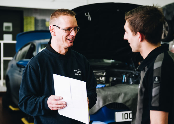 BMW MOT Staff
