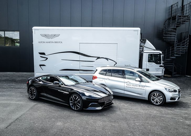 Aston Martin Car and Service Vehicles