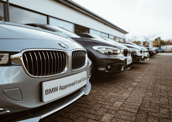 BMW Approved Used Cars in Row