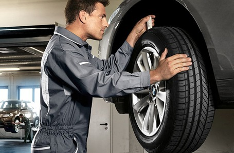 BMW Tyre Replacement
